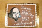 Shakespeare Cake 1