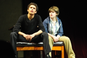 Students perform Twelfth Night in the 2011 Secondary Schools Festival. Photo by Duy Tran.