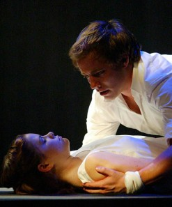 Graham Hamilton, Nicole Lowrance, Romeo and Juliet, Folger Theatre, 2005.