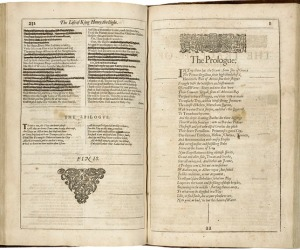 William Shakespeare. Mr. William Shakespeares comedies, histories, and tragedies. London, 1632. Folger Shakespeare Library.