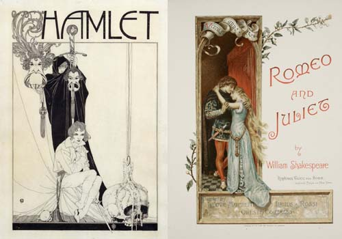 Hamlet and Romeo and Juliet
