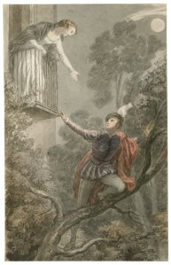 A scene from Romeo and Juliet. By John Massey Wright. Folger Shakespeare Library.