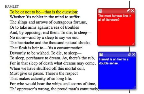 Hamlet Screenshot