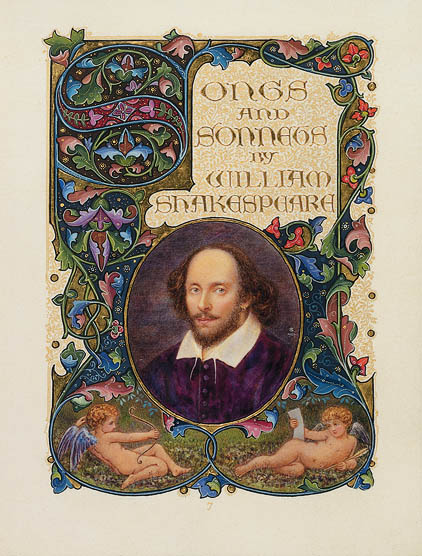 Alberto Sangorski. Songs and Sonnets by William Shakespeare. Manuscript, 1926. Folger Shakespeare Library.