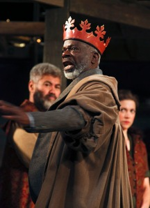 Joseph Marcell as King Lear. Photo by Ellie Kurttz.