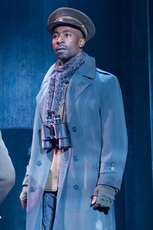 JaBen Early (Octavius Caesar), Julius Caesar, director by Robert Richmond, Folger Theatre, 2014. Photo by Teresa Wood.