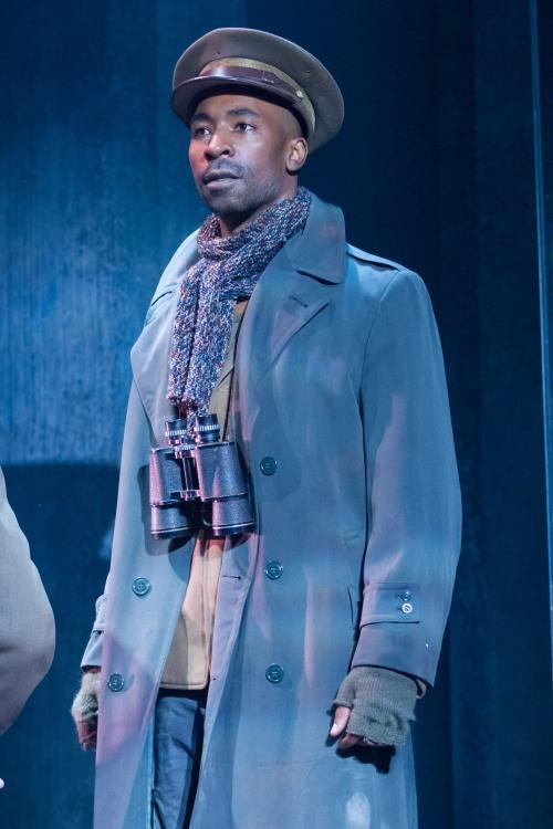 JaBen Early (Octavius Caesar), Julius Caesar, director by Robert Richmond, Folger Theatre, 2014. Photo by Teresa Wood.