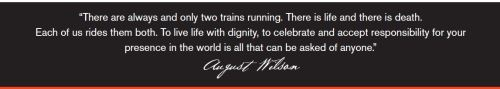 August Wilson quote