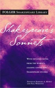 Shakespeare's Sonnets, Folger Edition (Image: Folger Library)