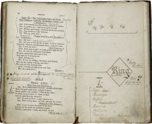 Paul Robeson's Othello prompt book.