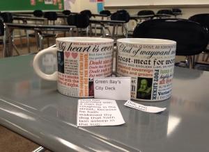 Shakespeare in a Mug (Image: Stefanie Jochman)